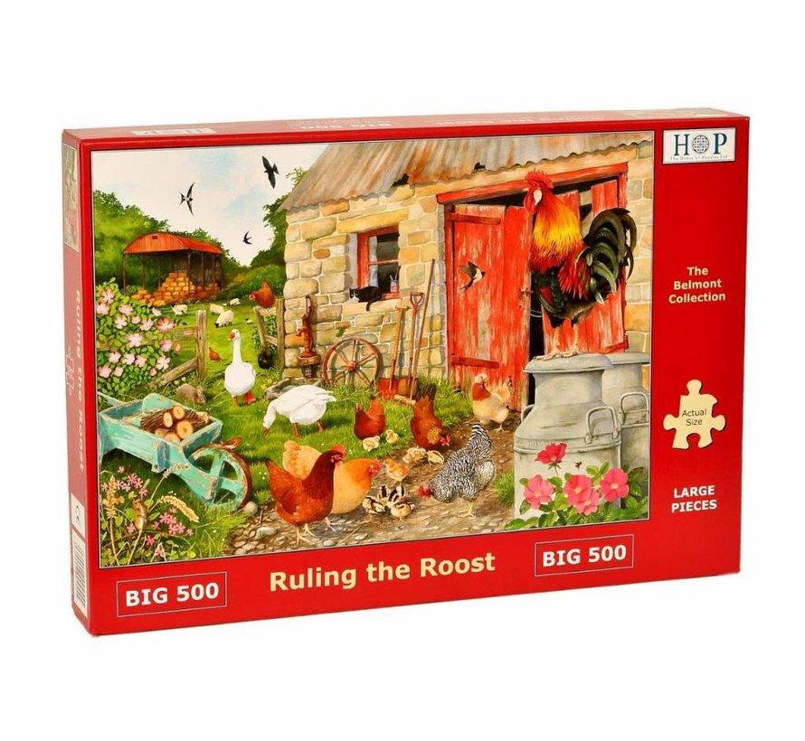 Ruling the Roost Puzzel 500 XL stukjes