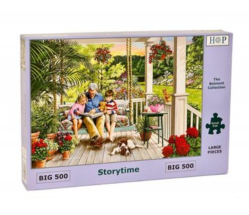 The House of Puzzles Storytime Puzzel 500 XL stukjes