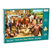 The House of Puzzles Time for new shoes puzzle pieces 500 XL