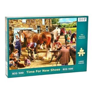 The House of Puzzles Zeit für neue Schuhe Puzzleteile 500 XL