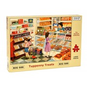 The House of Puzzles Tuppenny Treats Puzzel 500 XL stukjes