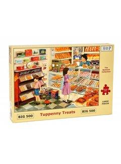 The House of Puzzles Tuppenny Treats Puzzel 500 XL stukjes