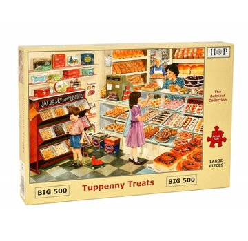 The House of Puzzles Tuppenny Treats Puzzle 500 pieces XL