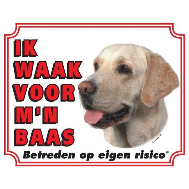 Stickerkoning Labrador Retriever Wake Board - Blond