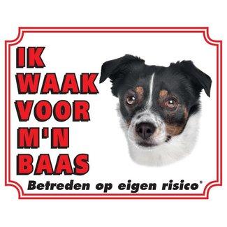 Stickerkoning Boerenfox Wake board - I watch my boss