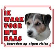 Stickerkoning Jack Russell Terrier Wake Board - Ruwhaar