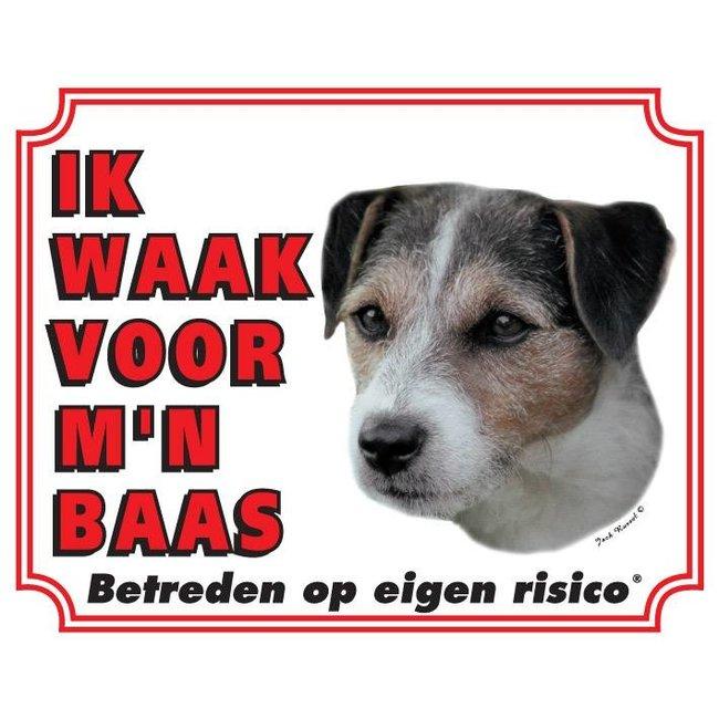 Stickerkoning Jack-Russell-Terrier Wake Board - Ruwhaar