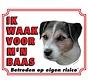 Jack Russell Terrier Waakbord - Ruwhaar