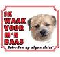 Wake board Border Terrier - Je regarde mon patron
