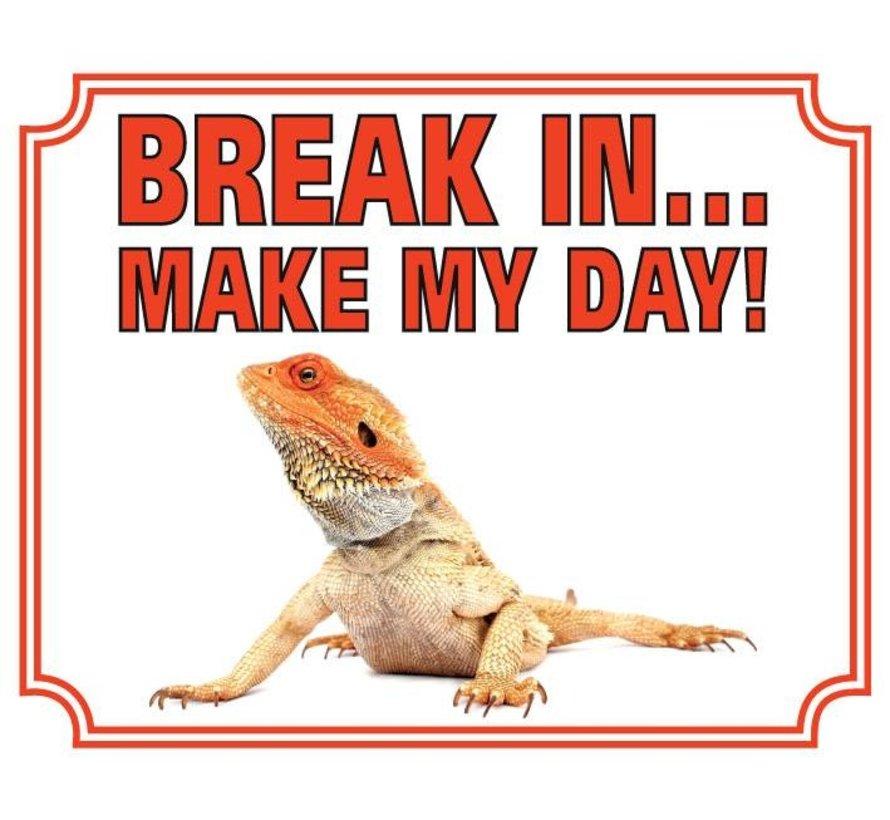 Bartagamen Wake Board - Pause in Make my Day