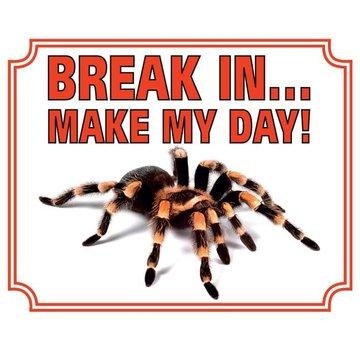 Stickerkoning Tarantula-Uhr-Board - Pause in Make my Day
