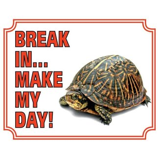Stickerkoning Turtle Watch Board - Break in make my day