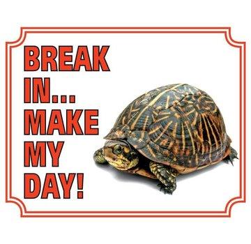 Stickerkoning Tortue Regarder Conseil - Pause en faire ma journée