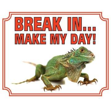 Stickerkoning Iguana Wake Board - Pause dans Make My Day