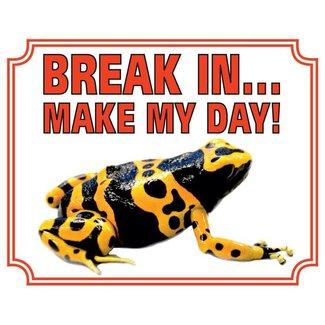 Stickerkoning Gifkikker Wake Board - Pause in Make my day