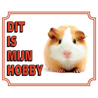 Stickerkoning Conscious guinea Panel - Das ist mein Hobby