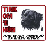 Stickerkoning Friese Stabij Wake Board - Tink to you their