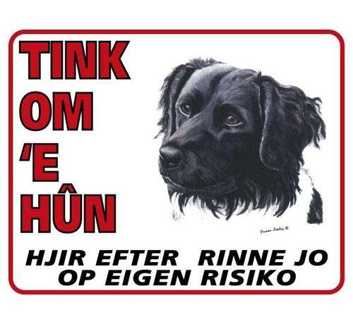 Stickerkoning Friese Stabij Waakbord - Tink om u Hun