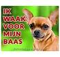 Chihuahua Waakbord - Ik waak voor mijn Korthaar