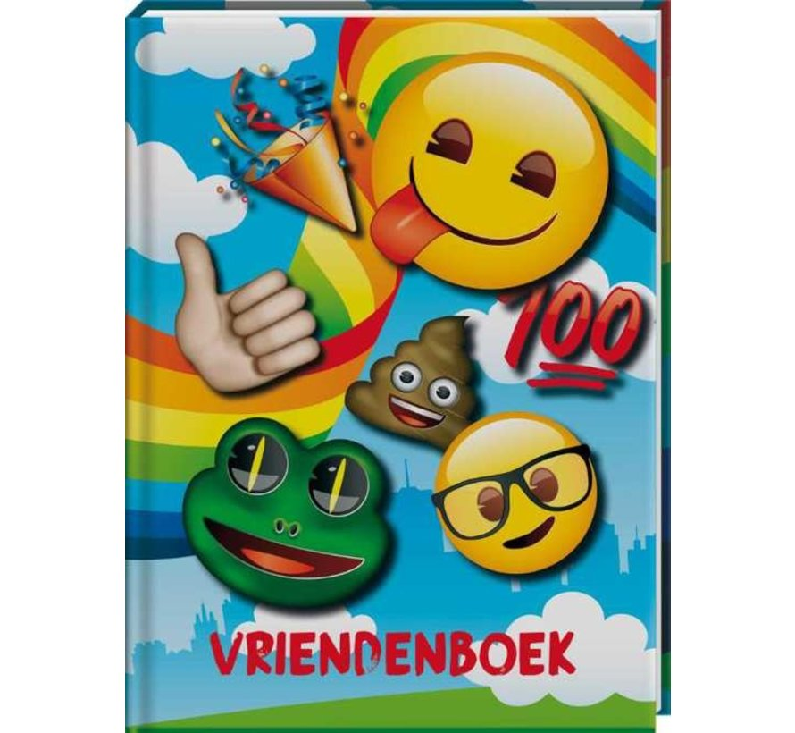 Emoji Vriendenboekje