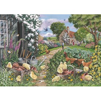 The House of Puzzles Going Cheep Puzzle 250 pieces XL