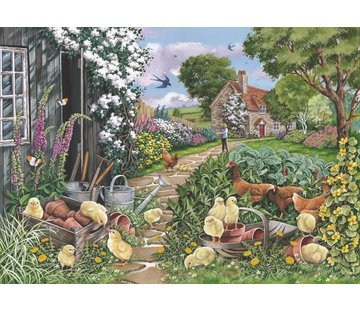 The House of Puzzles Going Cheep Puzzle 250 pièces XL
