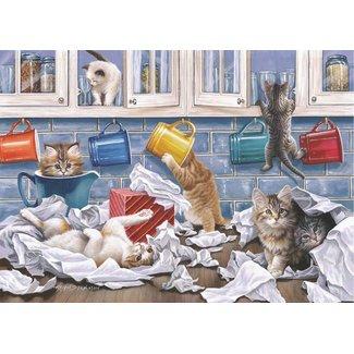 The House of Puzzles Kitty Litter Puzzel 250 XL stukjes