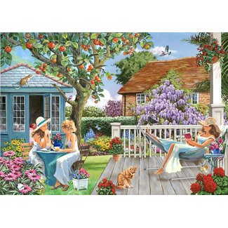 The House of Puzzles Ladies of Leisure Puzzle 250 pieces XL