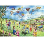 The House of Puzzles Let's Go Fly a Kite Puzzle 250 pieces XL