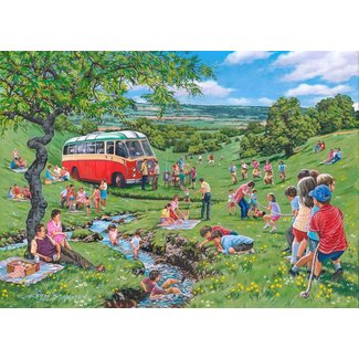 The House of Puzzles Sonntag Picknick Puzzle 250 Stück XL