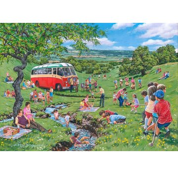 The House of Puzzles Sunday Picnic Puzzle 250 pieces XL