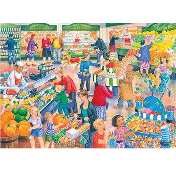 The House of Puzzles Supermarché Dash XL Puzzle 250 pièces