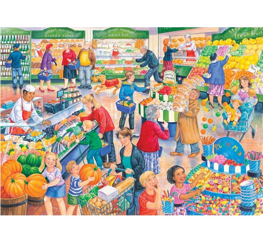 Supermarket Dash Puzzel 250 XL stukjes