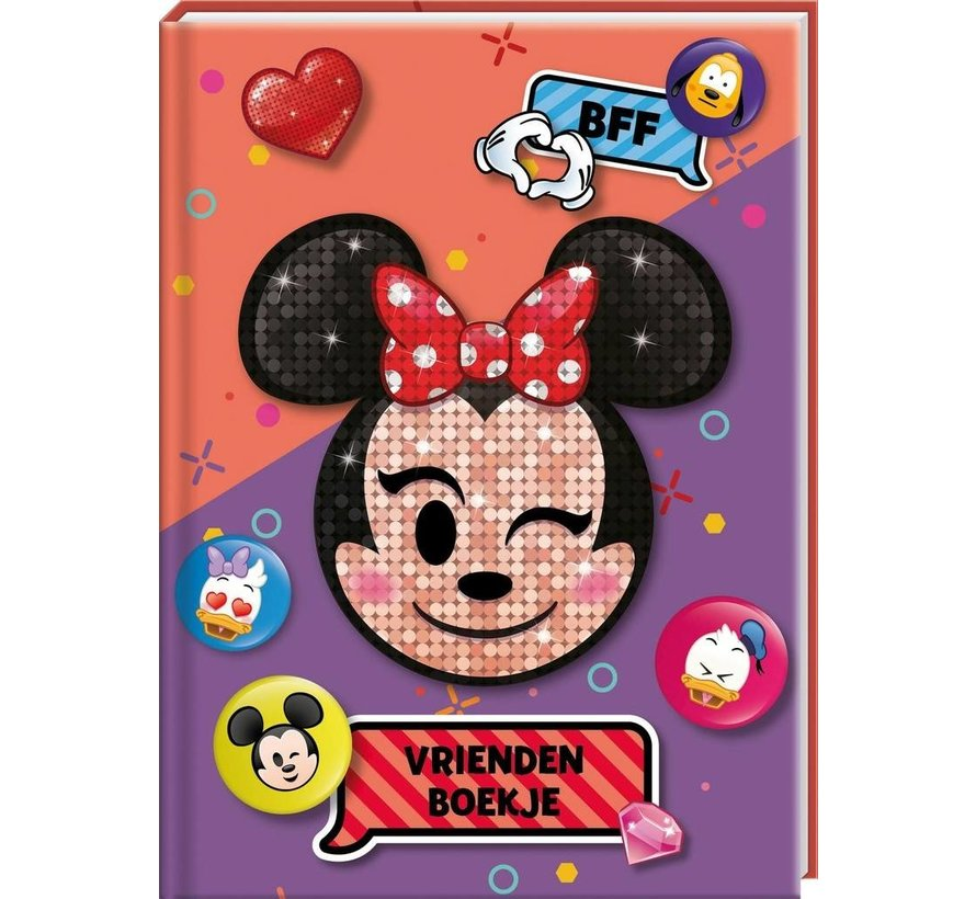 Minnie Mouse Vriendenboekje Emoji
