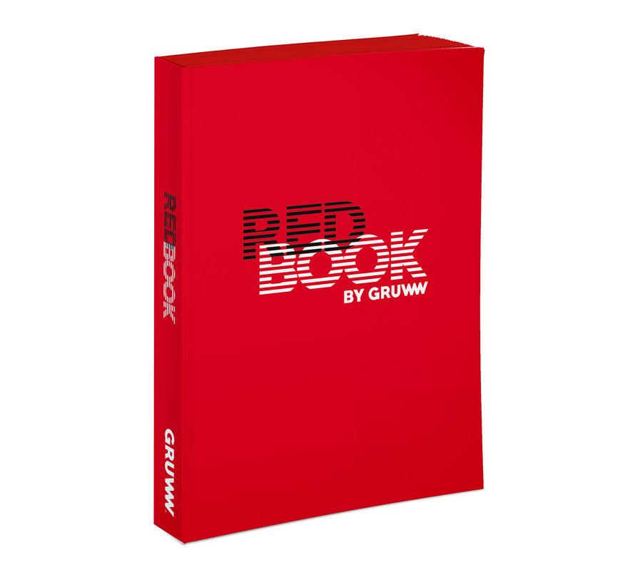 Gruww Notitieboek Rood