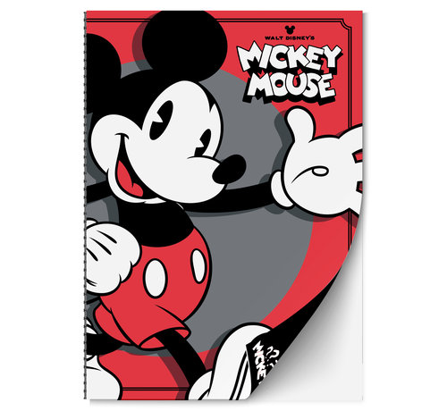 Inter-Stat Mickey  Mouse Notitieboek