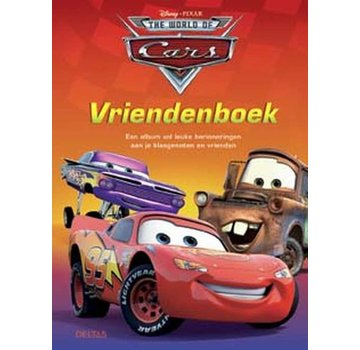 Deltas Cars Friends Booklet