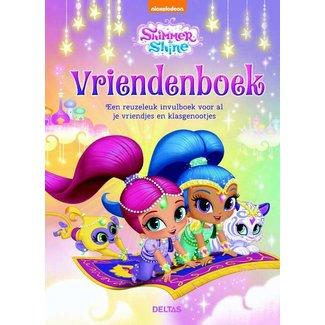 Deltas Shimmer and Shine Vriendenboekje