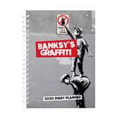 Browntrout Banksy Agenda 2020 A5