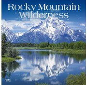 Browntrout Rocky Mountain Wilderness Calendar 2020