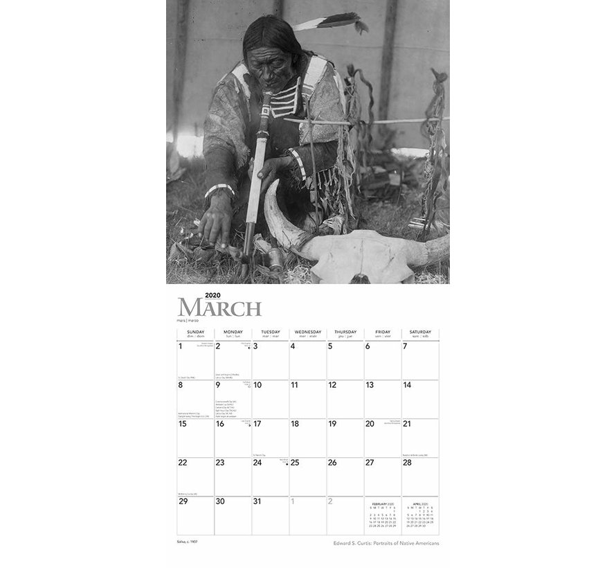 American Natives Kalender 2021
