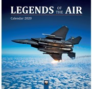 Flame Tree Legends of the Air Calendar 2020