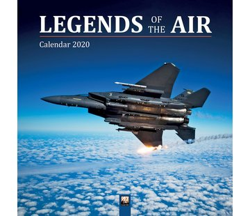 Flame Tree Legends of the Air Kalender 2020