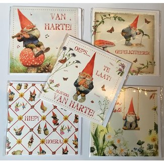 Comello Rien Poortvliet Congratulations Greeting Cards