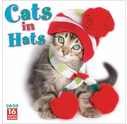 Sellers Publishing Cats in Hats Calendar 2020