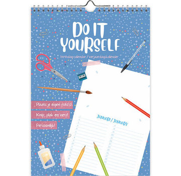 Comello Do it yourself A4 Birthday Calendar