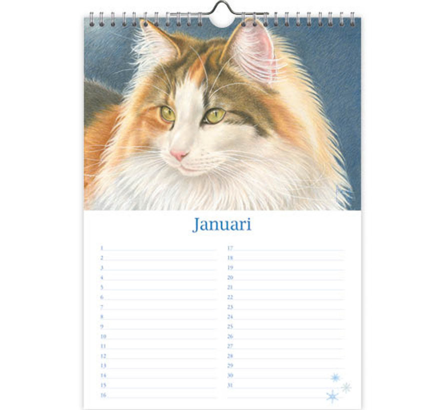 Franciens Katten Verjaardagskalender Tibbe