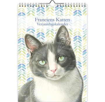 Comello Franciens Cats Birthday Calendar Tibbe