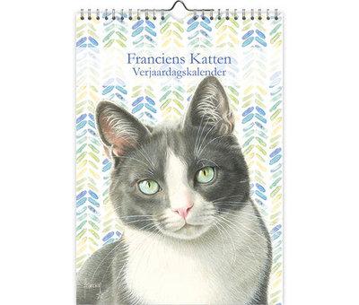 Comello Franciens Cats Birthday Calendar Tibbe
