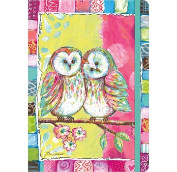 Lang Owl Friends Notitieboek